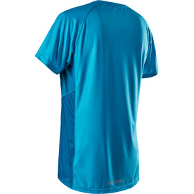 Salming Race Air Maglia A Maniche Corte Uomo, carribean sea/morrocan blue